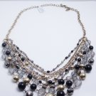 garlicfashion DIY handmade women fashion 'Fancy That' bead strands necklace chain