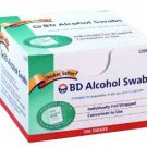 NEW! BD Alcohol Swabs 100 each Box
