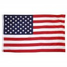 NEW! Polyester US Flag with Grommets, 3 by 5-Feet 3 x 5