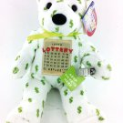 NEW! Lottery Lucky Bear Plush Holds Tickets and Money