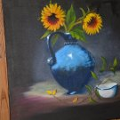 sunflower oil painting