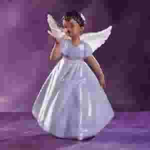 African American Angel with Dove