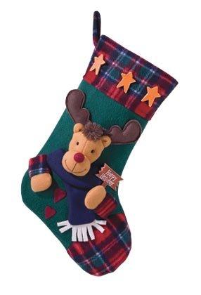 Plush Stocking-Rudolph