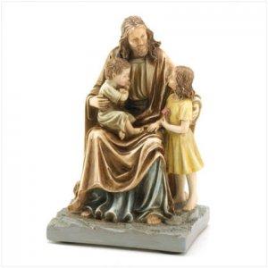 Jesus Speaking With Children