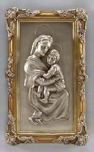 Mary and Child Plaque