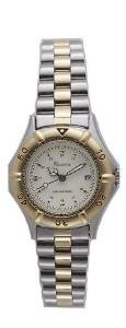 Twotone Quartz Watch (Men)