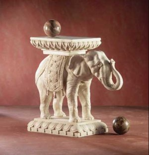 Elephant Plant Stand