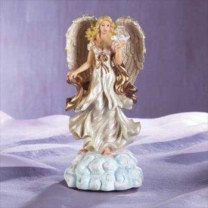 Angel Standing on Cloud