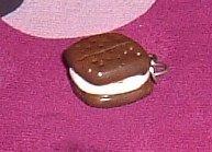 Handmade Ice Cream Sandwich Charm