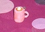 Handmade Hot Cup of Cocoa Charm