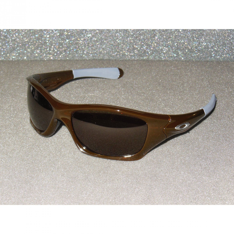 Oakley Pit Bull Sunglasses Polished Rootbeer/Dark Grey