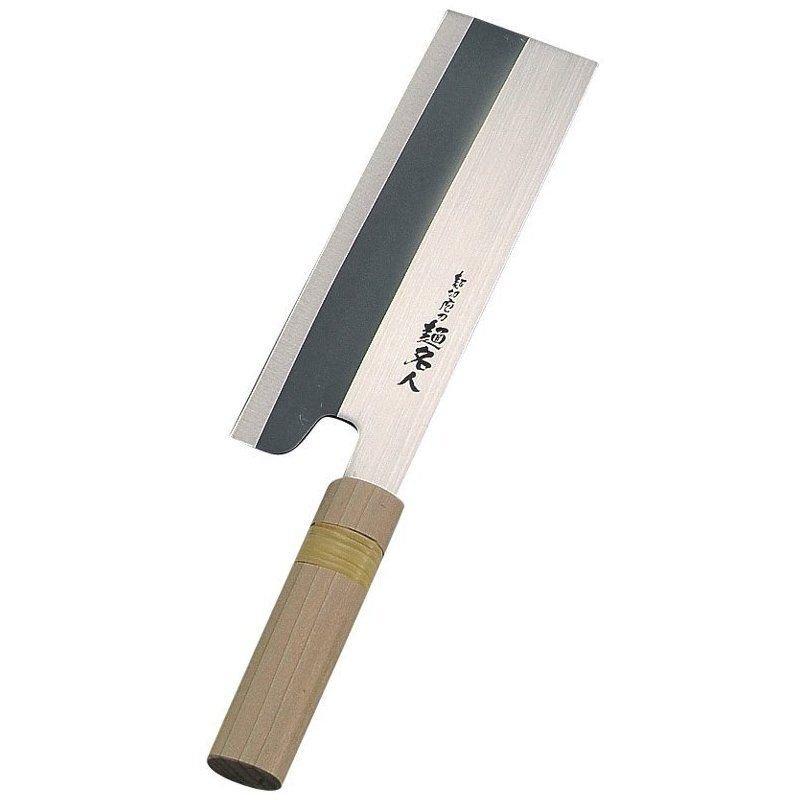 """Parukinzoku 8"""" Menkiri Bocho Soba/Udon Japanese Noodle Cutting Knife F1853"""