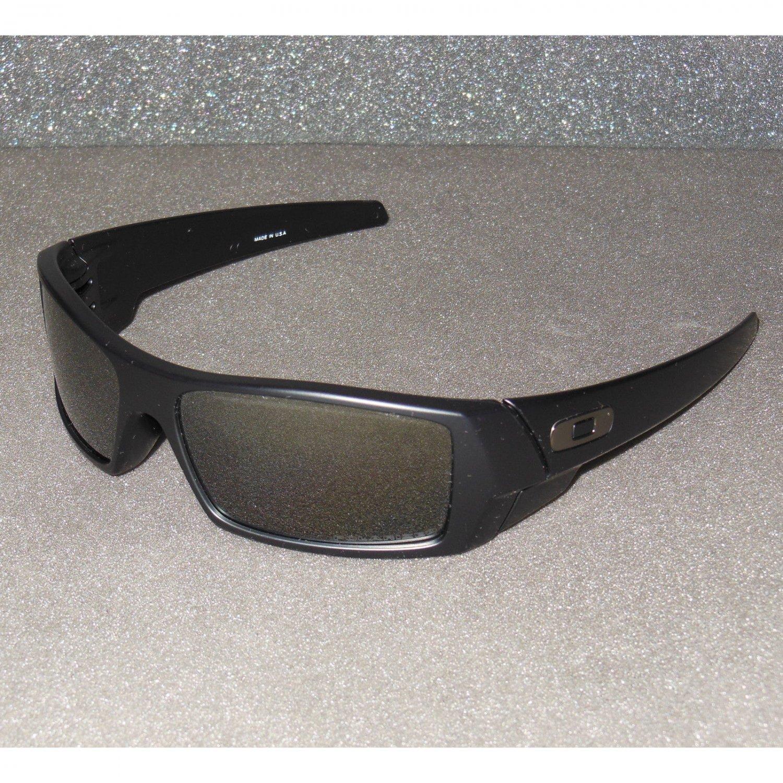 9ec216691306a Oakley Gascan Sunglasses Matte Black Black Iridium POLARIZED