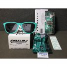 Oakley Frogskins Retro Sunglasses Heritage Collection Limited Edition Seafoam/Grey