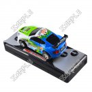 Remote controlled mini car (Green/Blue/White)