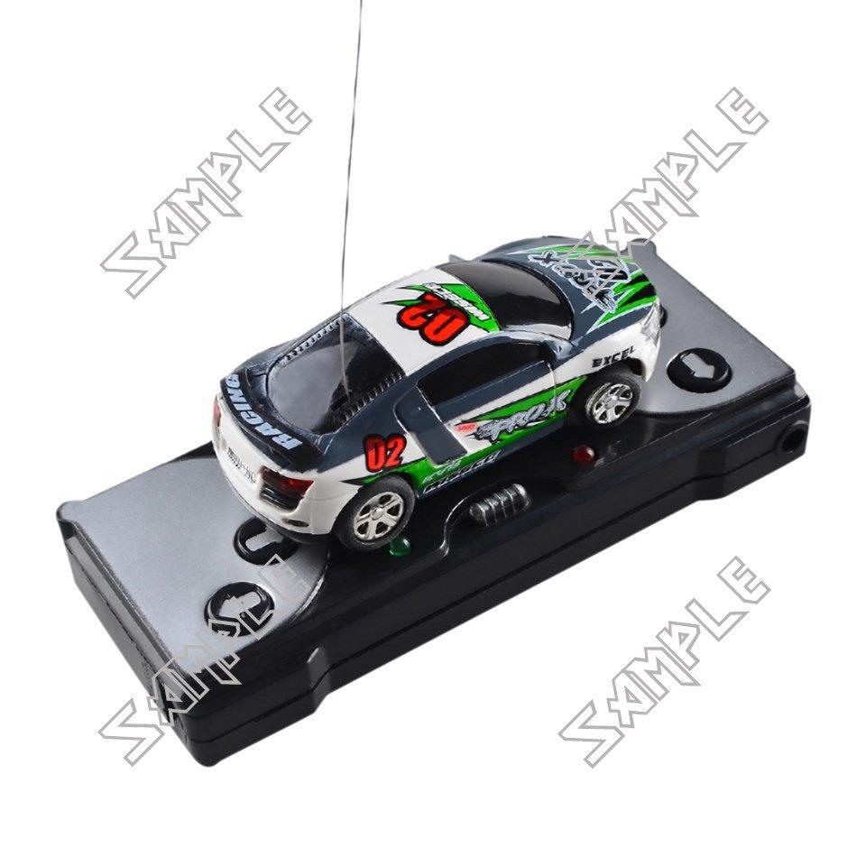 Remote controlled mini car (Green/Grey)