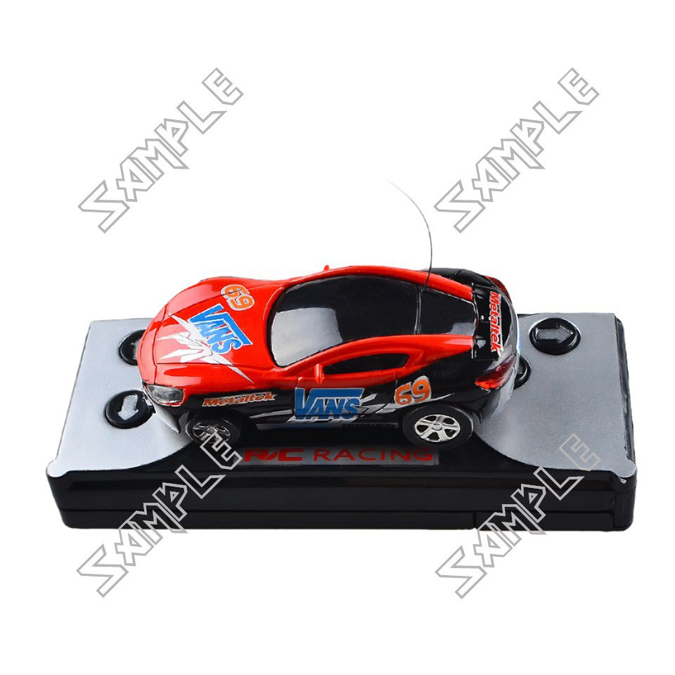 Remote controlled mini car (Red/Black)