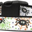 NEW Silly Spiders Size Med Dog Collar