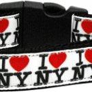 NEW I LOVE NEW YORK Size Med Dog Collar