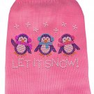 Dog Sweater LET IT SNOW SIZE XSMALL - Fits 1.5 to 3 lb Pet