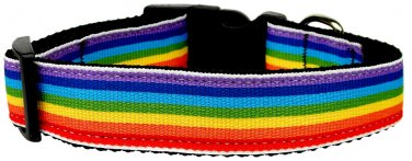 NEW Colorful LGBT Pride Size LG Dog Collar