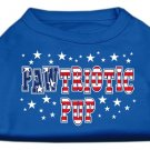 NEW PAWTRIOTIC PUP Dog Shirt All Sizes