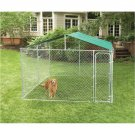 "Dog Roof Compatible with 10X10 Dog Kennels ""E-Z Roof"""