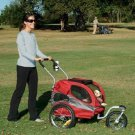 Medium Pet Stroller HOUND ABOUT Push Handle - up to 50 lbs