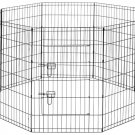 HEAVY DUTY WIRE PLAYPEN INSIDE OUTSIDE PUPPY & SMALL PETS 30""
