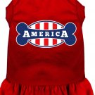 BONE AMERICA Pet Dress Sizes 2X to 4X Solid Colors For Cats and Dogs
