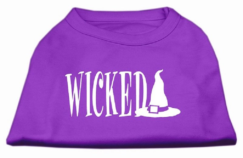 WICKED Halloween Pet Shirts Sizes XLarge - XXXLarge