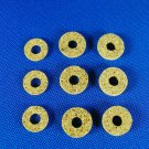 Valve Stem Corks Brass Instrument - Assortment of 9 kork washers