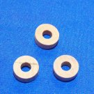 Brass Instrument Valve Stem Corks- Set of 3