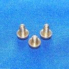 3 Key Guard Screws Vito 7136  Alto Saxophone Genuine Parts - Dimensions Given