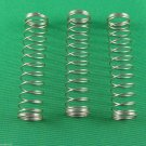 Genuine Bach TR500 TR500S Trumpet  Valve  Piston Springs  set of 3 repair parts