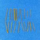 Clarinet Gold Plated Round Spring Set & instructions - Sizes Listed - 23 Springs