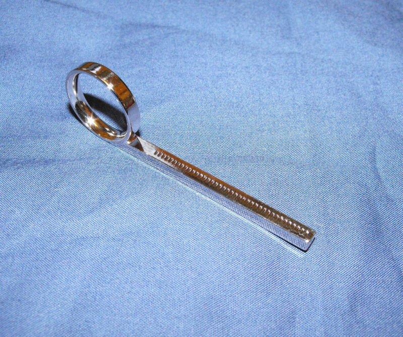 Bach Bundy Liberty Trumpet Cornet Flugelhorn 3rd Slide Finger Ring Genuine
