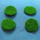 """Genuine Selmer Bundy Buescher Self Adhesive Green Felt Disc 5/8"""" 4 piece set"""