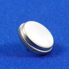 Getzen nickel plated finger button with pearl - Trumpet Cornet and more!