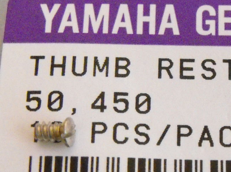 2 Yamaha Clarinet Thumb Rest screws Fit Many universal part