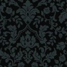 Vtg China French Bisque Bleuette Cotton Fabric Print 4 Dolls Green Black