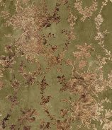Vintage CALICO Fabric Tiny Print Petite Flowers Rust Brown Doll Dress Quilting