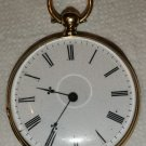 """Antique gold watch """"Cylindre"""" 14K"""