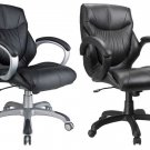 1 NEW ERGONOMIC Mid-BACK EXECUTIVE OFFICE CHAIR #10221