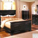 NEW 5pc Queen All Wood Traditional Bedroom Set CM7812DK