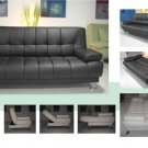 NEW MODERN CARESOFT FUTON SOFA BED ITEM ...  #3510