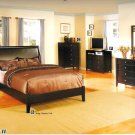 NEW 5pc Queen All Wood Contemporary Bedroom Set #CM7821