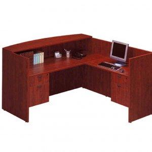 New 4 Pcs L-shape Reception Desk Set - PL Selection