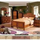 NEW 5pc Queen All Wood Traditional Bedroom Set #CM7024