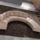NEW CONTEMPORARY SECTIONAL LEATHER SOFA  ITEM #A53